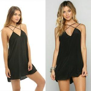 New acacia kama'aina storm black dress kamaaina S